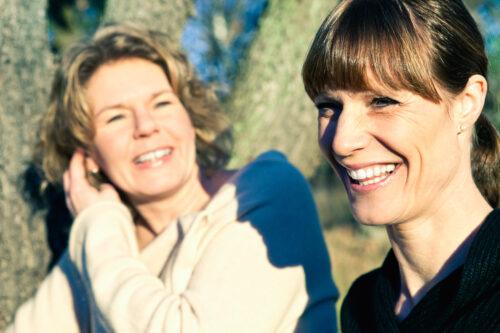Maria Sognefors och Camilla Sandell
